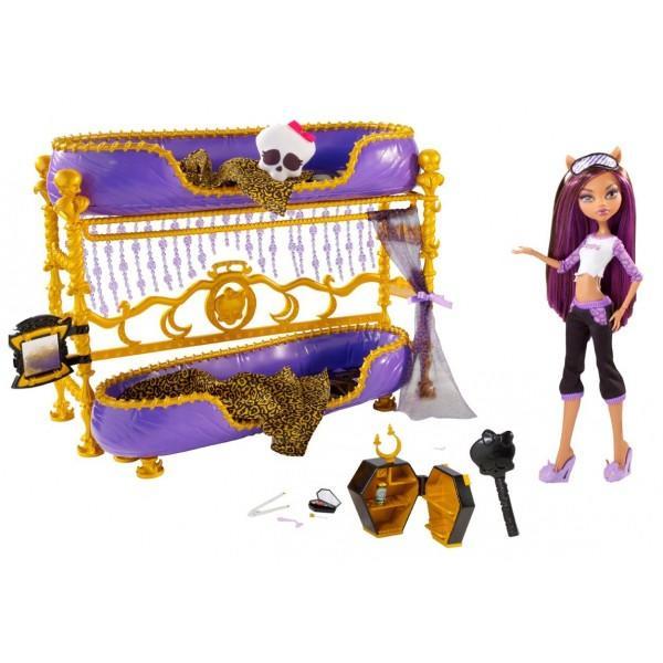 Кукла Клодин Вульф с кроватью купить Киев,Украина
