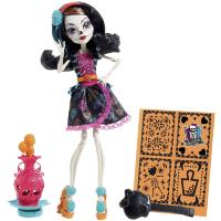 Кукла Monster High Скелита Калаверас Арт Класс