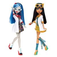 Monster High Клео и Гулия Безумная наука в классе